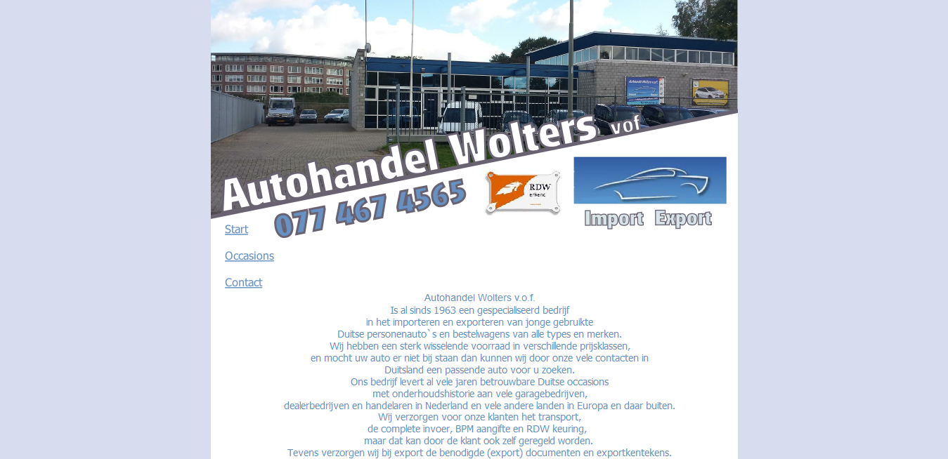 Autohandel Wolters